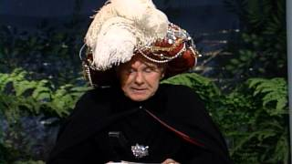 """Johnny Carson's Carnac the Magnificent Answers """"Persnickety"""""""
