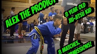Alex The Prodigy | Grappling Industries Toronto Highlights | Kids Jiu-Jitsu