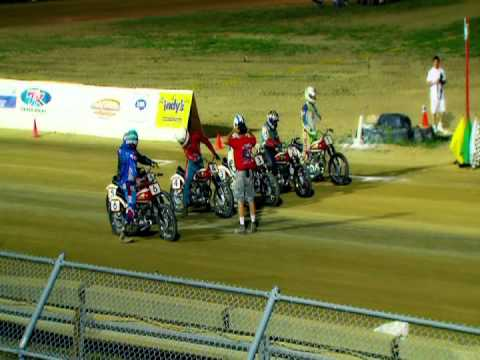 1949 Indian Arrow Flat Track Racers in Indianapolis, 2011