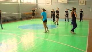 Урок физкультуры 9 А