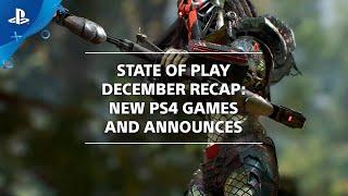 State of Play December 2019 - News Recap