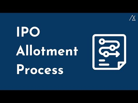 IPO Allotment Process in India | 10 Basic Steps
