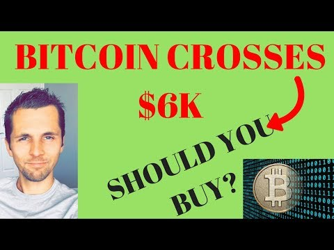 Bitcoin Future Value Predictions - Bitcoin Crosses $6K (Buying With Coinbase)