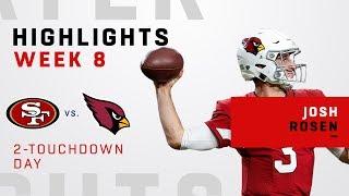 Josh Rosen Rallies Cardinals & Gets the Win vs. 49ers