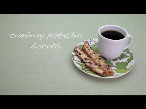 How to Make Cranberry Pistachio Biscotti | Cookie Recipes | Allrecipes.com