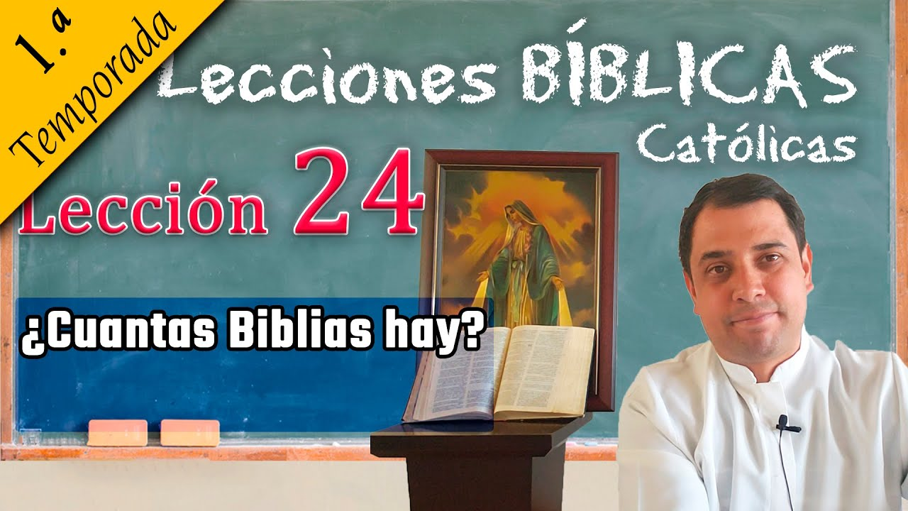 ✅ ¿Cuantas Biblias hay? - 📚 Lecciones Bíblicas - Padre Arturo Cornejo ✔️