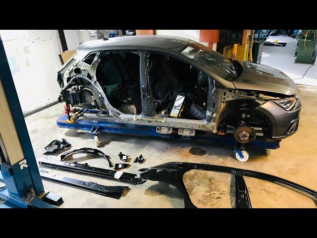 Body Work SEAT Ibiza - VLog114