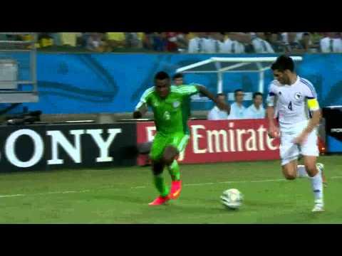 Copa do Mundo 2014 Nigéria 1x0 Bosnia Herzegovina Gols