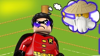 Боевая ссора .Lego. Лего мультики. Бэтмен и Робин. Майнкрафт. Нексо Найтс. Новые смешные мультфильмы