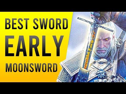 Witcher 3 Best Sword EARLY Location – The MoonBlade Silver Sword Relic Starter Guide!