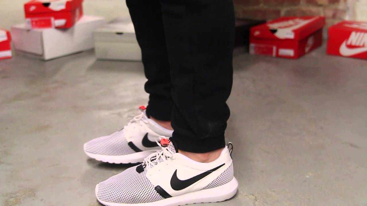 nike roshe run nm breeze white black hot lava buy