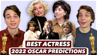 EARLY 2022 Best Actress Predictions