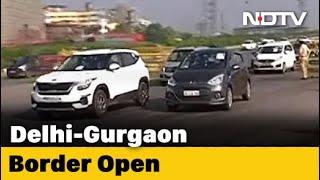 Haryana Opens Delhi-Gurgaon Border After Centre's New Lockdown Guidelines