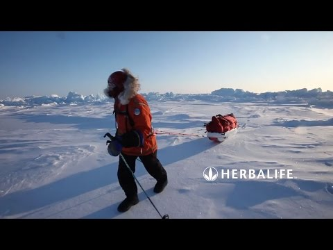 How Does Arctic Explorer Sebastian Copeland Get Through Frozen Lands? | Herbalife24