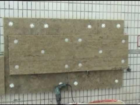 Монтаж Rockwool Венти Баттс - вентилируемый фасад