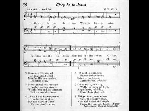 Glory Be To Jesus Hymn In Four Part Harmony Warriors Youtube