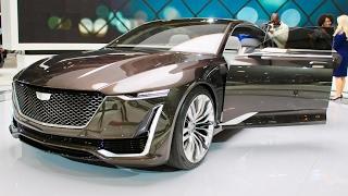 Cadillac Escala Concept 2017 (Interior/Exterior) Walkaround