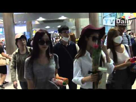 [TV Daily] 150622 T-ARA @ Incheon Airport back from Nanjing