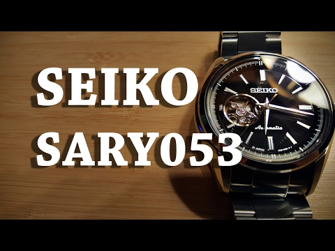 Seiko SARY053 - Review and Measurements