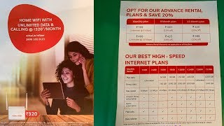 Airtel V-Fiber Vs Jio GigaFiber, V-Fiber Plans, Rate, Data, Speed and more