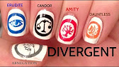 Divergent nail art youtube 652 prinsesfo Image collections