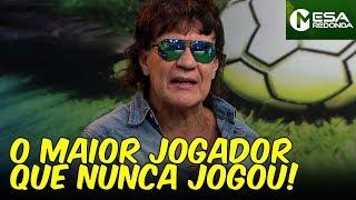"""""""Se joguei 20 partidas inteiras, FOI MUITO!"""", conta Carlos Kaiser (30/06/19)"""