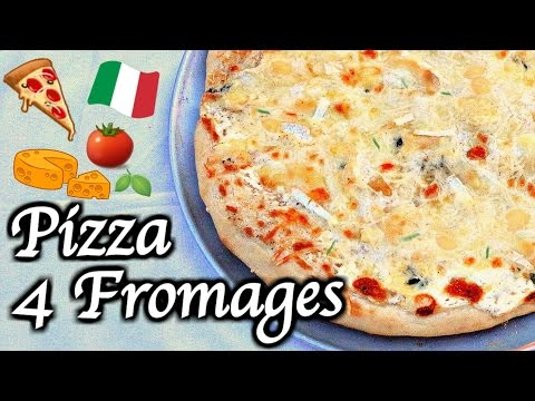 pizza-4-fromages-|-four-cheese-pizza-recipe-🍕-[eng-&-fr-subs]