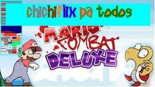 REPARTIENDO CHICHIFLIX PA TODOS¡¡ - Mario Combat Deluxe - CREST110