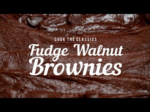 Download Youtube: How to Make Classic Fudge-Walnut Brownies | Cook the Classics | MyRecipes