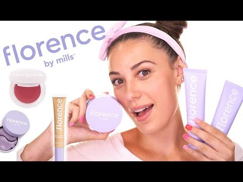 I TRIED FLORENCE BY MILLS! | Skincare Routine & Natural Makeup Look | Victoria Lyn