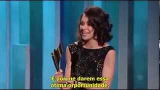 Tatiana Maslany - Canadian Screen Awards 2014 - Speech