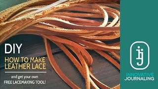How To make Leather Lace