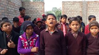 Tu mera karma tu mera dharma song by a student