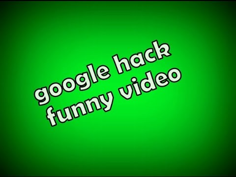Google hacking tricks (funny)   গুগল মজার ভিডিও হ্যাক