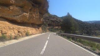 Fat Burning 60 Minute Indoor Cycling Motivation Training 4K Margalef Tour