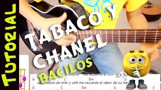 Como tocar TABACO Y CHANEL en Guitarra