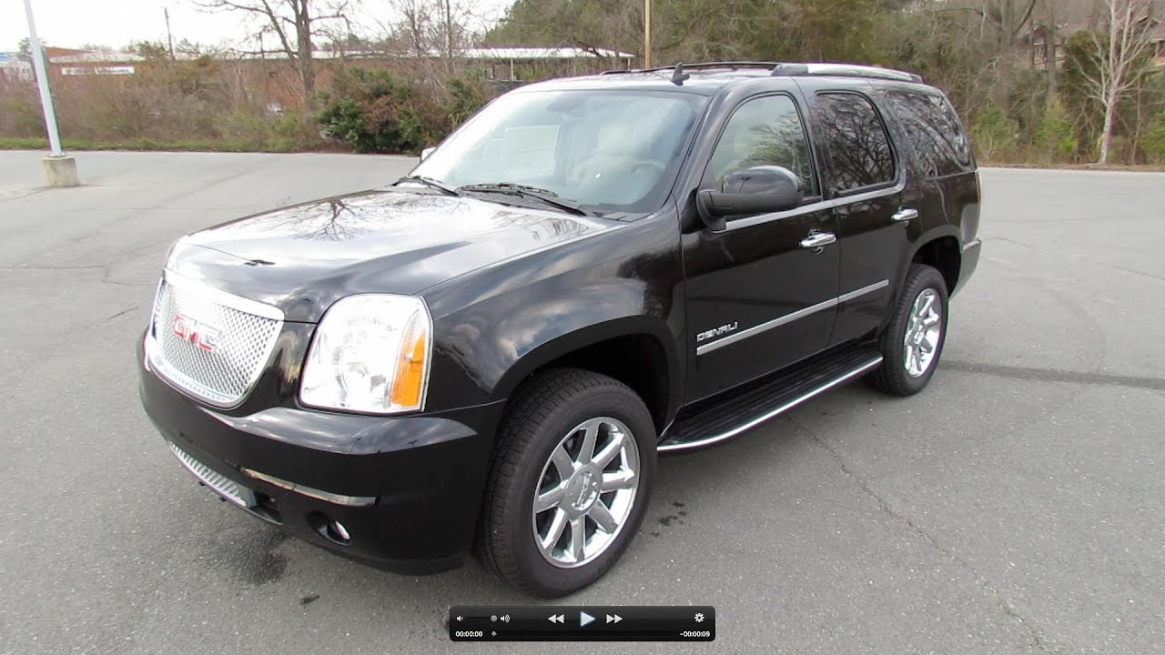 2012 gmc yukon denali start up exhaust and in depth tour youtube. Black Bedroom Furniture Sets. Home Design Ideas