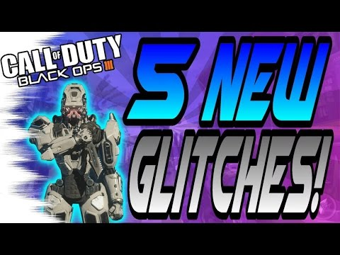 *NEW* 5 MORE Multiplayer Glitches! - Wallbreaches, High Ledges (Black Ops 3 Online Glitch)