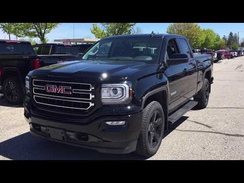 Onyx Black 2019 GMC Sierra 1500 Limited 4WD Double Cab Review Oshawa null - Mills Motors Buick GMC