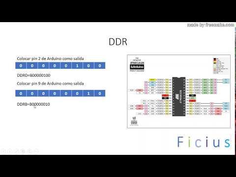 1. Declaración De Puertos En Arduino. PinMode VS DDR