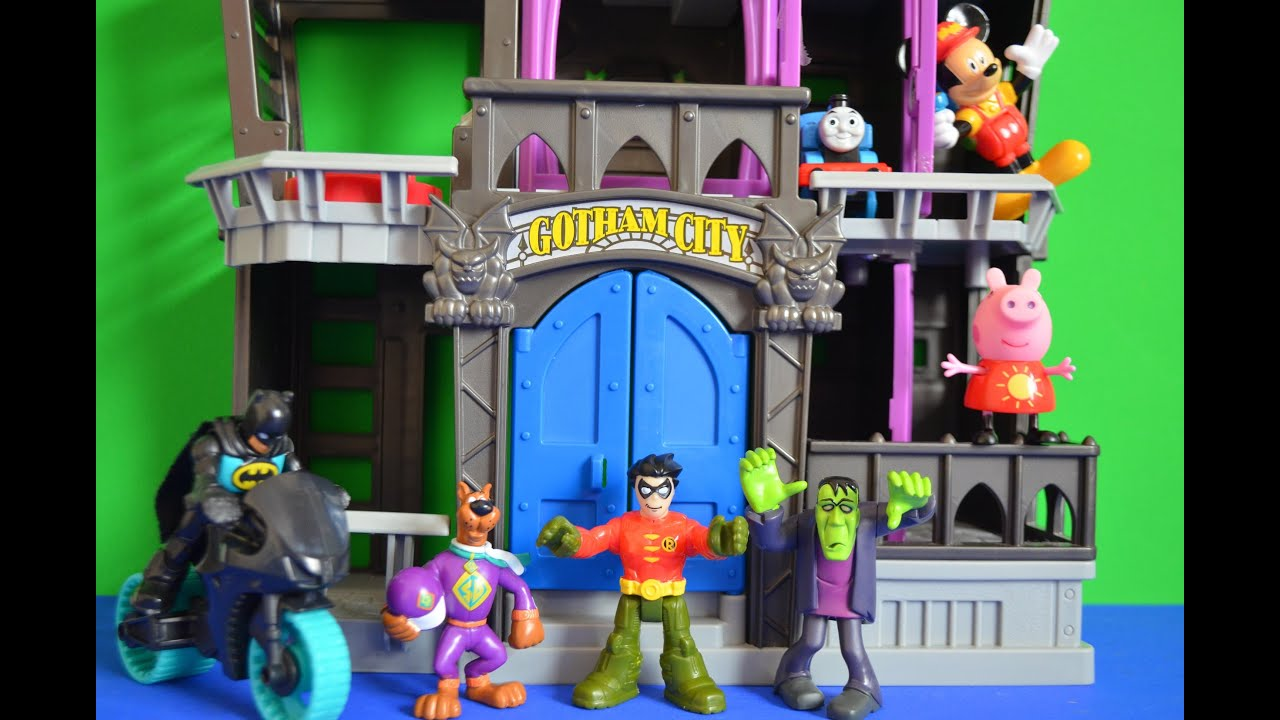 Imaginext Batman Peppa Pig Gotham City Thomas And Friends