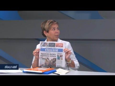 """Adriana Vigilanza explica el """"FRAUDE"""" en las elecciones regionales. Dígalo Aquí. Seg. 3"""