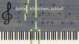 Schlaf, Kindchen, schlaf! - Piano