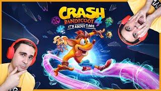 2J YOU ARE A STUPID! (Crash Bandicoot 4)