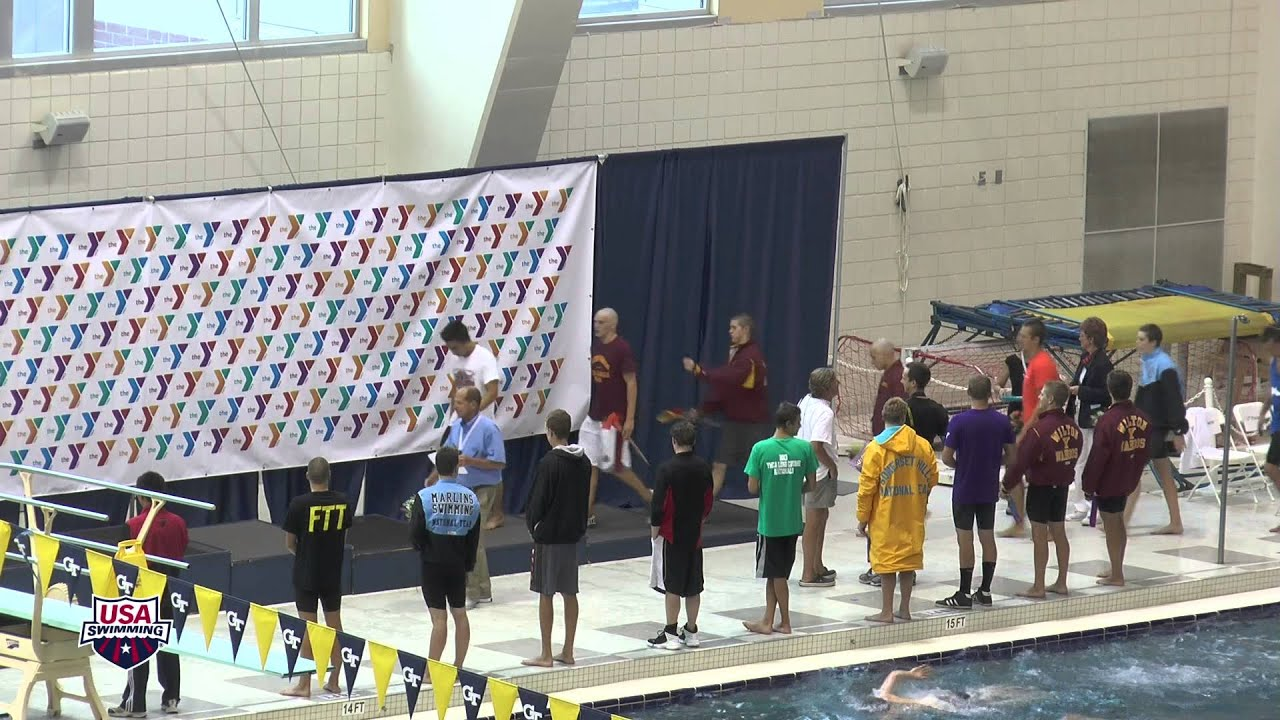 Men 400 Individual Medley A Final Awards 2013 YMCA Long Course National  Championships Atlanta, G