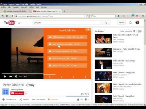 Download Video Youtube Dengan Kualitas Audio Original