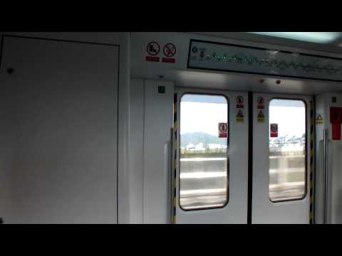 深圳地鐵羅寶線 南車株洲列車 機場東至后瑞 Shenzhen Metro Luobao Line