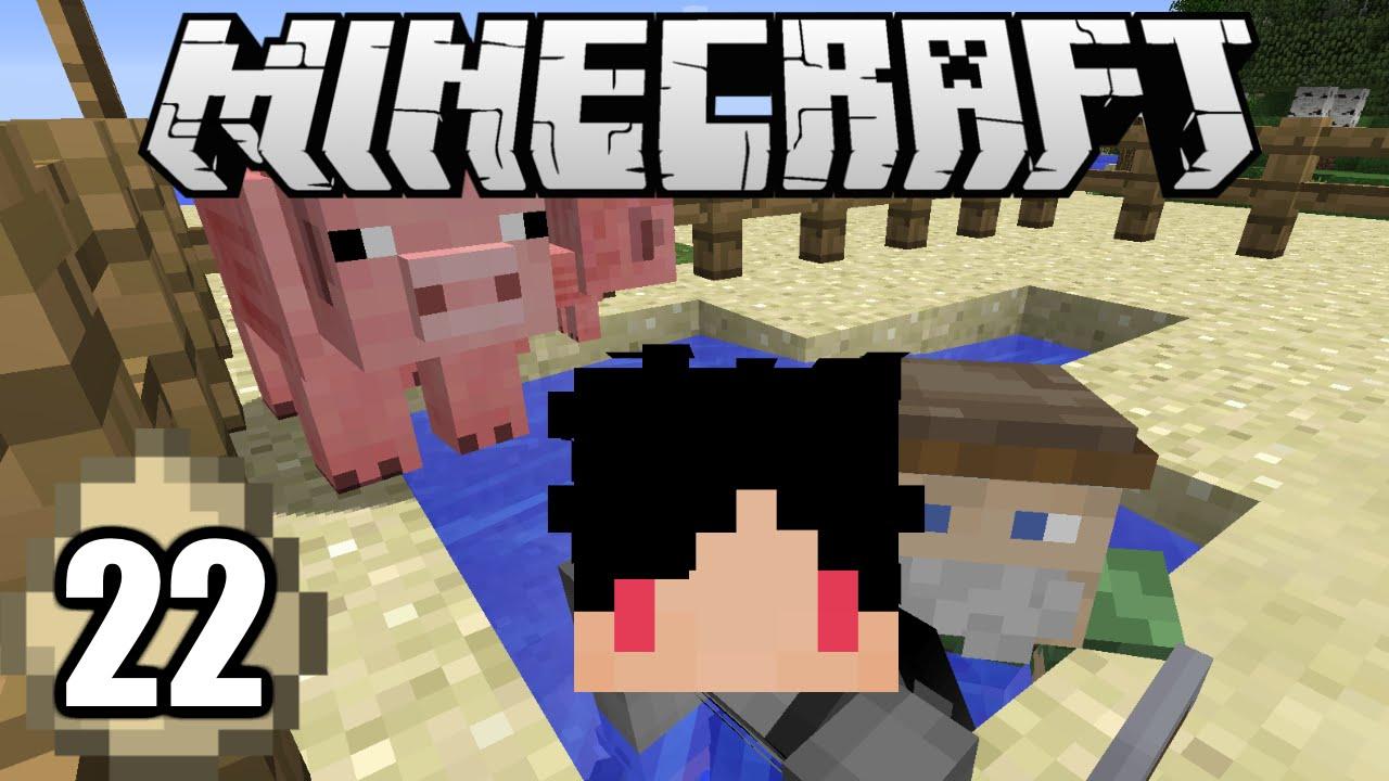 Minecraft Survival Indonesia - Membuat Kandang Babi! (22 ...