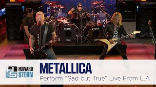 """Download Metallica """"Sad But True"""" Live on the Stern Show"""