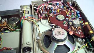1981 General Electric Mono AM-FM 8 Track Player/Radio Model: 3-5508A before Clean-up & repair.